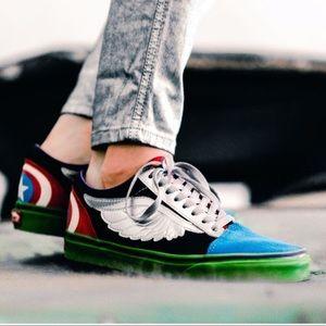 "Vans x Marvel "" Avengers ""  Collection Sneakers"